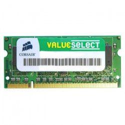 CORSAIR Mémoire PC Portable DDR2 - Value Select 2 Go (1 x 2 Go) - 667 MHz - CAS 5 (VS2GSDS667D2)