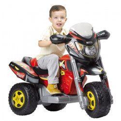 FEBER - Trimoto Xtrem Red Racer - Véhicule Electrique pour Enfant 6 Volts