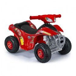 FEBER CARS Mini Quad Lightning McQueen 3 - Véhicule Electrique pour Enfant - Batterie 6V - Disney