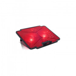 Spirit Of Gamer Refroidisseur PC AirBlade 100 Red - 15.6` - Double ventilateurs LED - Noir / Rouge