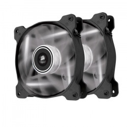 CORSAIR Ventilateur AF120 - Diametre 120mm - LED Blanches - Dual Pack (CO-9050016-WLED)