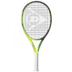 DUNLOP Raquette de tennis Force 100 Tour 25 - Junior - Noir et jaune