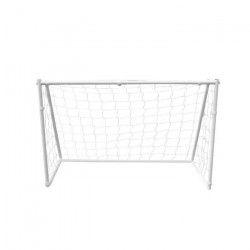 BUMBER Cage de Foot Deluxe S - 120 x 80 x 55 cm - Blanc