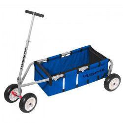 HUDORA Chariot de Transport 10` Bleu