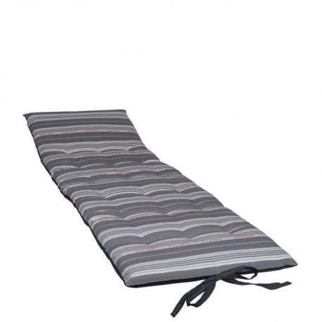 jardin prive matelas futon coutil - 190x56x5cm