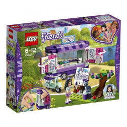 LEGO Friends 41332 Le stand d`art d`Emma