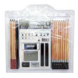 PANDURO Crayons a mine - Dessin et sketch - 12 crayons