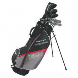 WILSON WGG130015 Prostaff Set de golf Gaucher + Sac inclus