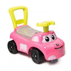 SMOBY Porteur Enfant Auto Rose