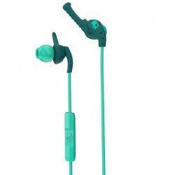 SKULLCANDY Écouteurs Intra-auriculaires Xt Plyo - Avec micro - Turquoise et Vert