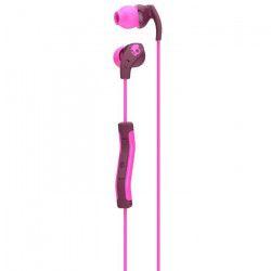 SKULLCANDY Écouteurs Intra-auriculaires Method - Avec micro - Bordeaux et Rose