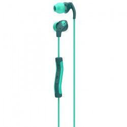 SKULLCANDY Écouteurs Intra-auriculaires Method - Avec micro - Vert et Turquoise