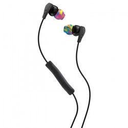 SKULLCANDY Écouteurs Intra-auriculaires Method - Avec micro - Jaune et Gris