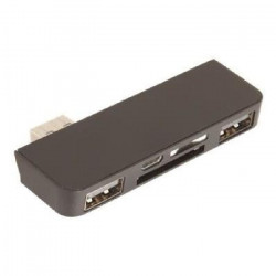 URBAN FACTORY Lecteur de carte SD 4en1 - Double port USB 3.0