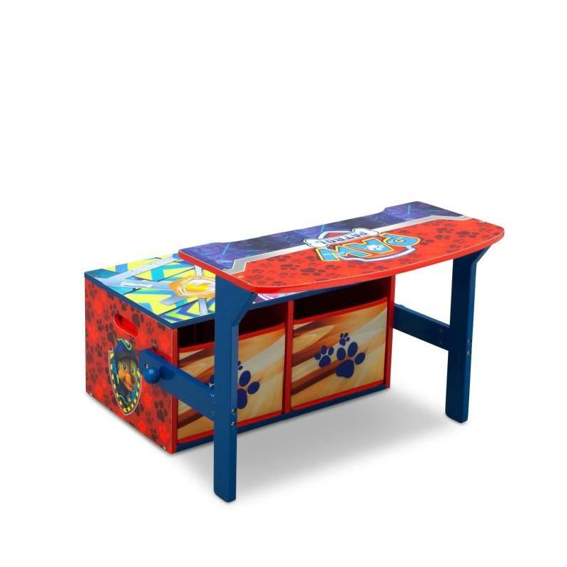 pat patrouille bureau banc enfant convertible avec. Black Bedroom Furniture Sets. Home Design Ideas