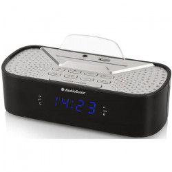 AUDIOSONIC CL-1463 Radio Réveil Bluetooth - Port de chargement USB