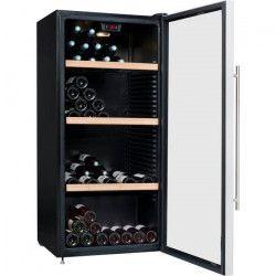 CLIMADIFF CLPG150 Cave a vin polyvalente ou de conservation - 150 bouteilles - Pose libre - C - L63 x H 138,5 cm