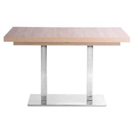 Quadrato Table Extensible 4 A 8 Personnes Melaminee