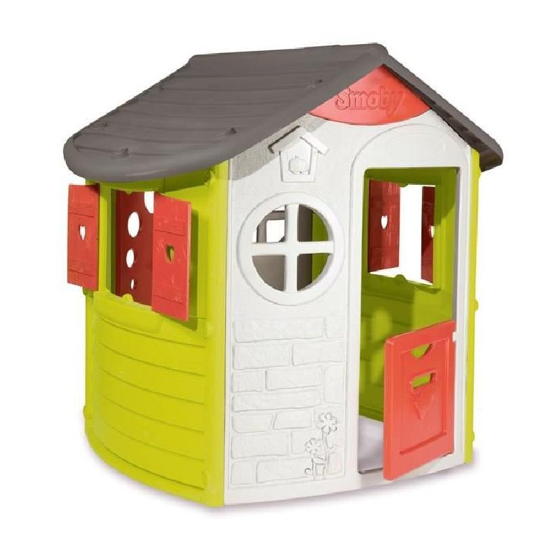 smoby maison enfant jura lodge jeu d ext rieur. Black Bedroom Furniture Sets. Home Design Ideas