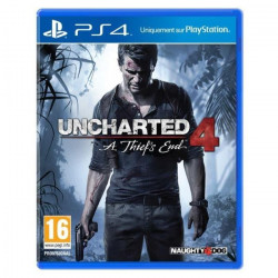 Uncharted 4 : A Thief`s End Jeu PS4