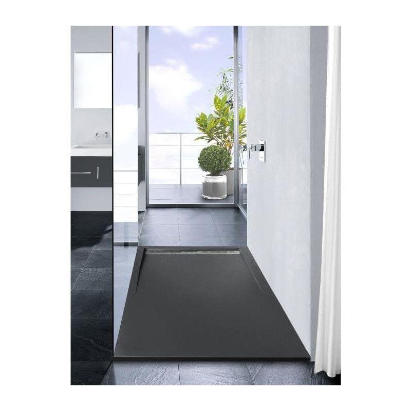 mitola receveur de douche rectangulaire a poser spirit. Black Bedroom Furniture Sets. Home Design Ideas