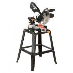 WOODSTER Scie a onglet radiale 254 mm 1800 W + Pietement et laser SL10LU