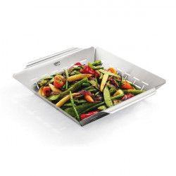 WEBER Panier a légumes carré Deluxe - Acier inoxydable