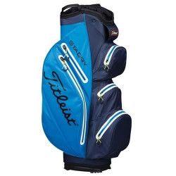 TITLEIST Sac de Golf StaDry Cart - Bleu