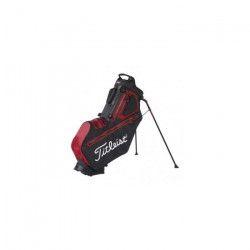 TITLEIST Sac de Golf avec Trépied Players 5 StaDry - Noir et Rouge