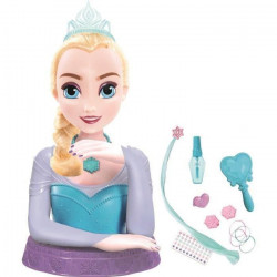 IMC TOYS Tete a coiffer de luxe Elsa La Reine des Neiges