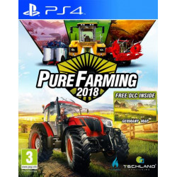Pure Farming 2018 Day 1 Edition Jeu PS4
