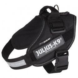 JULIUS-K9 Harnais Power IDC - 0 - M-L : 58-76 cm-40 mm - Noir - Pour chien