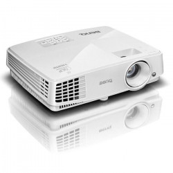 BENQ MS527 Projecteur Professionnel SVGA Éco-responsable - Full HD, Blu-Ray 3D - Blanc