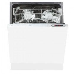 CONTINENTAL EDISON CELV1249FULL LV - Lave-vaisselle tout encastrable - 12 couverts - 49dB - A+ - Larg. 59,8cm