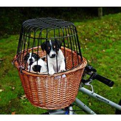TRIXIE Panier vélo avec grille pour chien