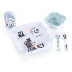 BABYMOOV Coffret Repas Lovely Lunch Set Bear