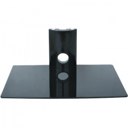 INOTEK FALCON 101 Tablette murale pour périphériques audio vidéos - 1 tablette en verre noir sécurit - 1 x 15