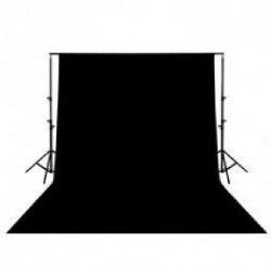 KONIG KN-BD33B Toile Studio Backdrop 295 x 295 cm - Noir