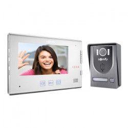SOMFY Visiophone V250 2 fils écran TFT couleur 7` avec touches tactiles