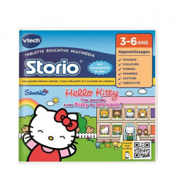 VTECH - Jeu Éducatif Storio - Hello Kitty