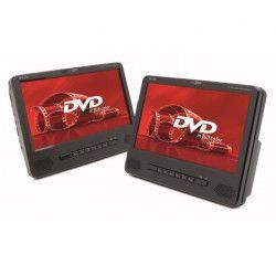 CALIBER MPD298 - Pack de 2 Lecteurs DVD portable avec écran de 9` LED - Noir