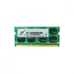 G.Skill Mémoire PC DDR3 - 4Go - 1333MHz - CL9 - SO-DIMM F3-10666CL9S-4GBSQ
