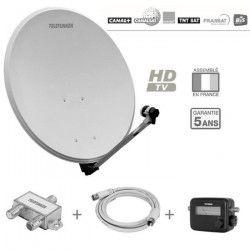 TELEFUNKEN T-S601TV Antenne extérieure pack réception Sat 1 TV