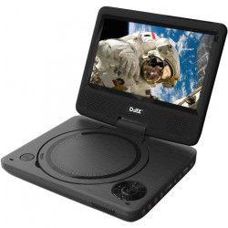 D-JIX PVS 706-20 Lecteur DVD portable 7` rotatif