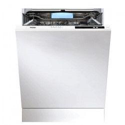 HAIER DW12-D2147FBIS - Lave-Vaisselle Full encastrable - 12 couverts - 47 db - A++ - Larg 56,9 cm
