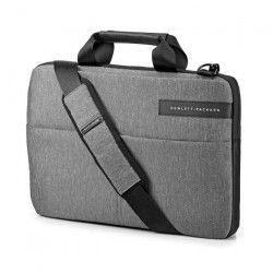 HP Sacoche pour ordinateur portable - Signature Slim Topload - 14` - Noir / Gris