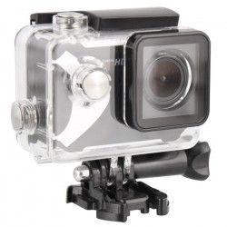 T`nB SPCAMHD3 Caméra sport HD 720 Pixels - 8 accessoires fournis - Noir et blanc