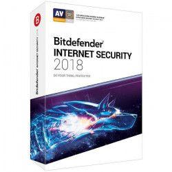 BITDEFENDER Internet Security 2018 - 2 ans - 5 PC