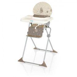 BREVI Chaise Haute Junior Pliante Koko Caramel