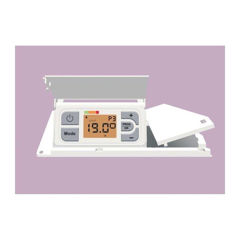 chaufelec dolce 1000 watts radiateur panneau rayonnant verre. Black Bedroom Furniture Sets. Home Design Ideas